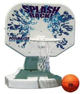 poolside basketball games