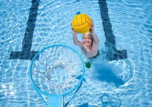 pool basketball set