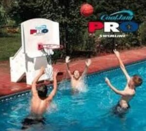 super wide basketball hoops for pool