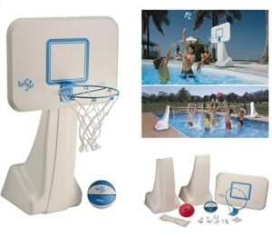 pool basketball hoop set