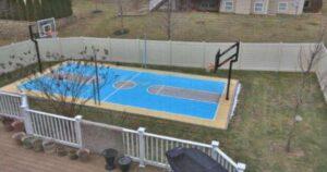 backyard court for resort