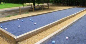 bocce ball court design