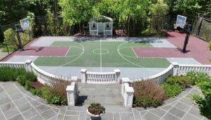 dugout backyard court design