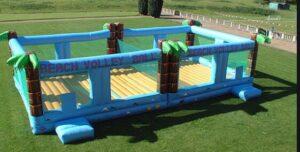 inflatable backyard court