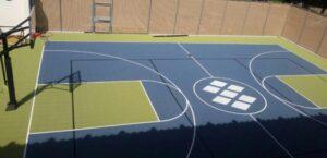 multi use backyard court