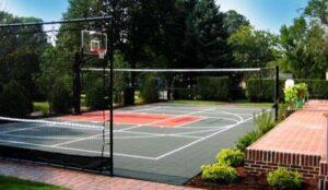 volleyball backyard court
