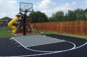 common ideas on backyard court