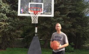 how to maintain basketball hoop with water
