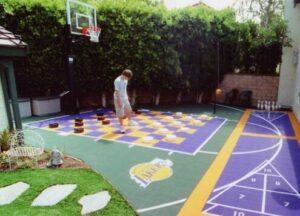 double court design