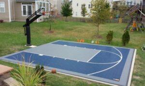 half court backyard court
