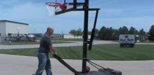 best ways to move basketball hoops