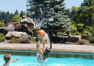 what types of salt water basketball hoop to choose
