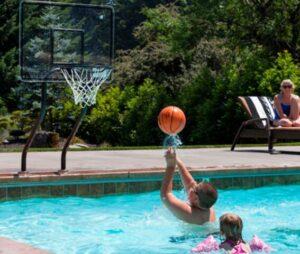 using salt water basketball hoops