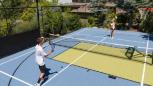tennis backyard court design