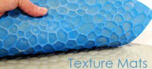using textured mats