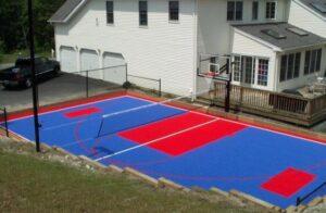 traditional backyard court