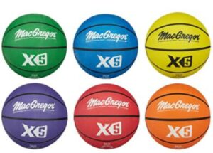 colorful indoor outdoor basketball