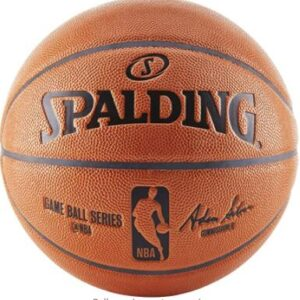 spalding outdoor leather basketball