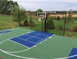 outdoor basketball court surface choosing
