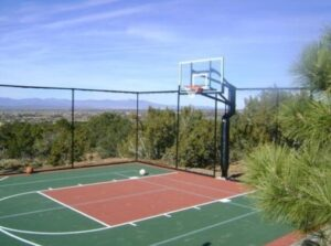 choose the best surface for outdoor basketball court