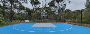 best outdoor basketball court surface plans
